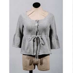 Sarah Spencer Lambs Wool Angora Shrug Sweater